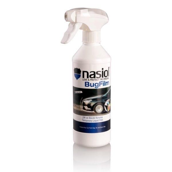 Nasiol BugFilm - szybka w aplikacji tymczasowa powłoka przeciw owadom oraz zabrudzeniom drogowym