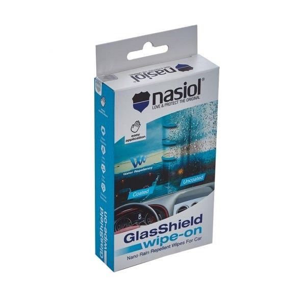 Nasiol GlasShield Wipe-On - powłoka ochronna na szyby, łatwa i szybka aplikacja