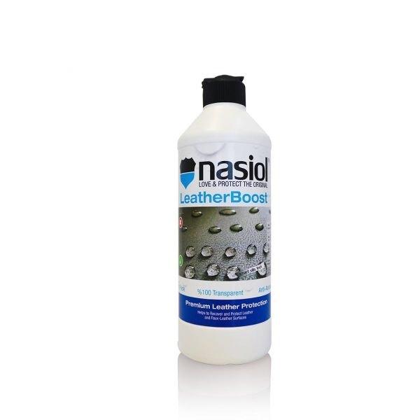 Nasiol LeatherBoost - trwała powłoka ochronna na tapicerkę skórzaną oraz eko skórę