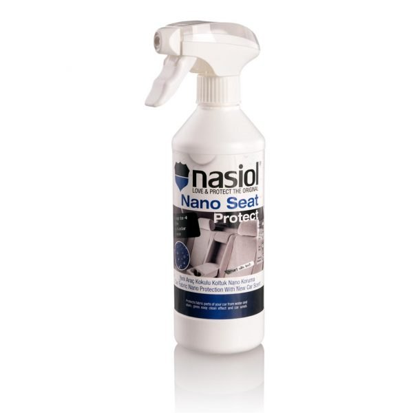 Nasiol Nano Seat Protect - impregnat do tapicerki materiałowej z zapachem New Car