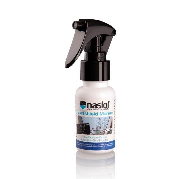 Nasiol GlasShield Marine - nano powłoka do szyb jachtów