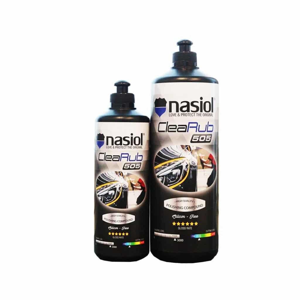 Nasiol CleaRub 505 średnio tnąca / wykończeniowa pasta polerska Nasiol Clearub 505